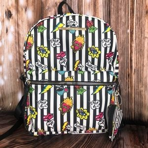 NWT Betsey Johnson Icons Backpack